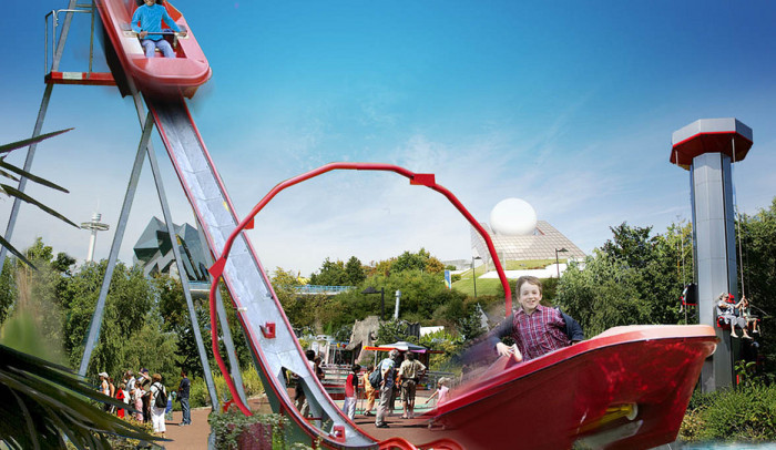 attraction loustic futuroscope