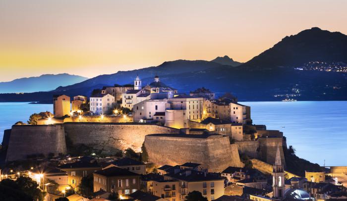 Ville de Calvi Corse Citadelle