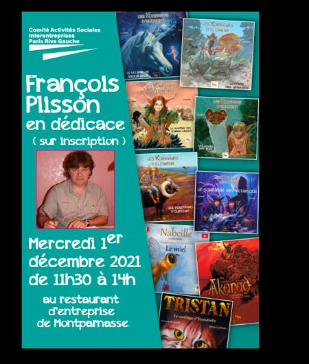 Dédicace François Plisson
